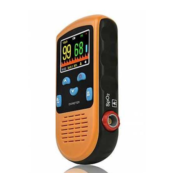 Oxímetro de Pulso de Uso Contínuo (Com Sensor Neonatal e pediátrico) - Mobil Saúde - Modelo PC-66B