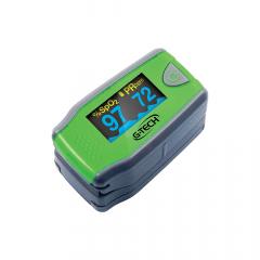 Oxímetro de Dedo Gtech Infantil (Pediátrico) - Mede Saturação de oxigênio, Frequência cardíaca com Curva Plestimográfica