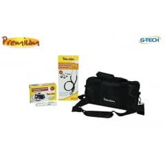 Kit acadêmico Premium - Esteto Rappaport + Esfigmomanômetro Aneróide + Termômetro + Bolsa Exclusiva
