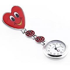 Relógio de Lapela de Metal com Presilha para fixar em Jaleco